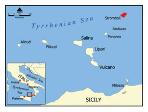Stromboli, Aeolian Islands Archipelago